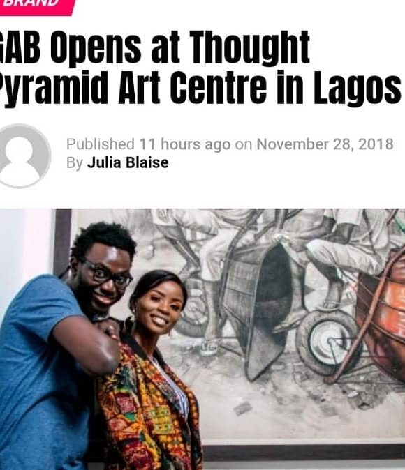 GAB Opens at Thought Pyramid Art Centre in Lagos